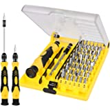 Esup 6089A 45 in 1 with 42 Bit Magnetic Driver Kit, Precision Screwdriver Set Cell Phone, Tablet, PC, Macbook, Electronics Repair Tool Kit - 1 Year Warranty, Best Christmas Gifts