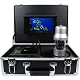 Anysun 1/3 Inch SONY CCD Underwater Fishing Camera - 360 Degree View, Remote Control, 7 Inch LCD Monitor, 14x White Lights