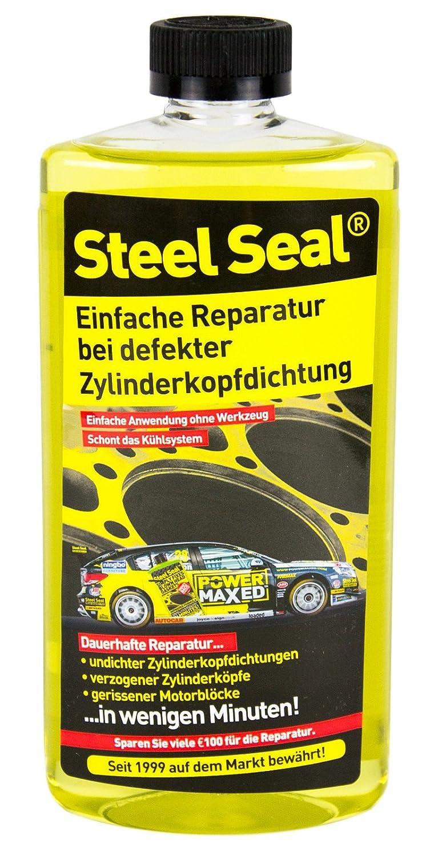 Steel Seal guarnizione di testa riparazione correzione permanente del liquido di raffreddamento riparazione delle perdite BENZINA & DIESEL Garanzia a vita