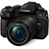 "Panasonic LUMIX G95 20.3 Megapixel Mirrorless Camera, 12-60mm F3.5-5.6 Micro Four Thirds Lens, 5-Axis Dual I.S. 2, 4K 24p 30p Video, Pre-Installed V-Log L, 3"" Flip-Out Touchscreen - DC-G95MK (Black)"