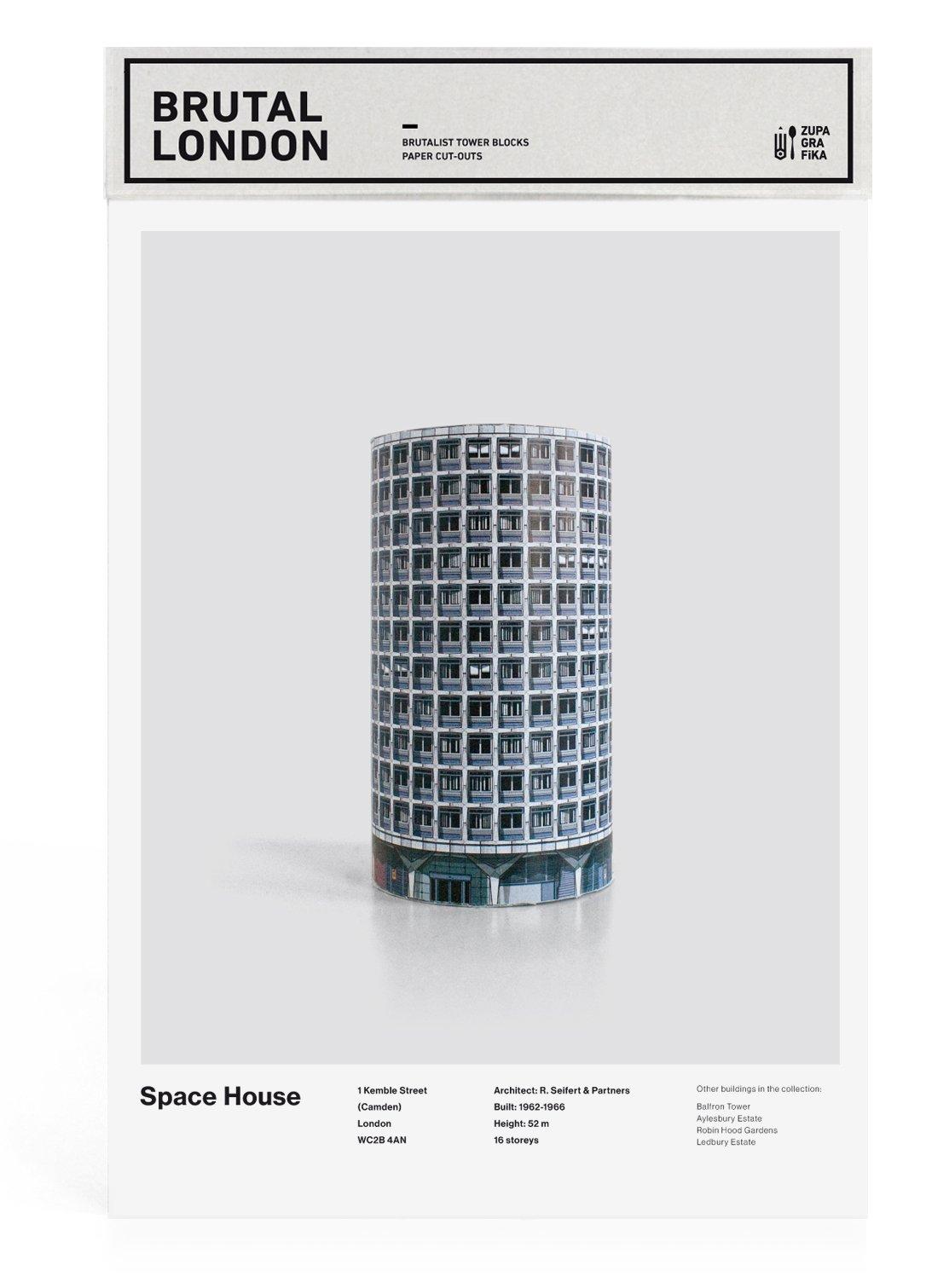 Brutal London: Space House: Build Your Own Brutalist London ebook