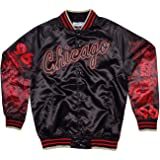 Mitchell & Ness Chicago Bulls Six Rings Satin NBA Jacke
