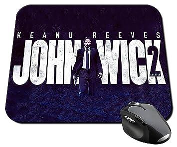 John Wick 2 Keanu Reeves Mauspad Mousepad Pc Amazonde Bürobedarf