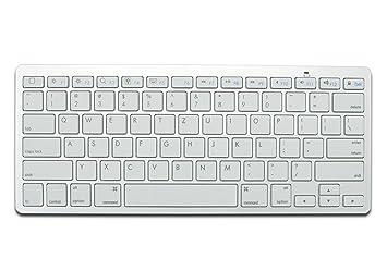Ednet 86275 Bluetooth QWERTZ Alemán Blanco teclado para móvil - Teclados para móviles (Blanco, 10 m, Mini, Universal, QWERTZ, Alemán): Amazon.es: ...