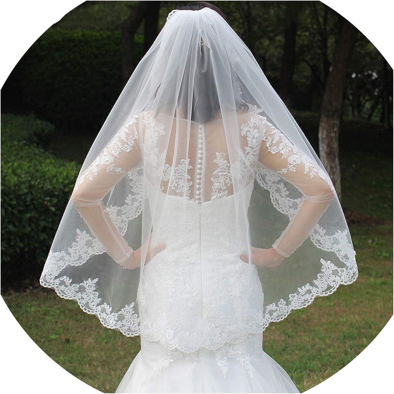 Beaded lace veil Custom Veil fingertip layer veil Beaded lace applique short layer veil Made to Order veil lace veil Bridal veils