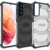 Restoo Samsung Galaxy S21 Plus Case,Anti-Slip Hard Armor ShockproofCover with Rugged Heavy Duty Protection for Samsung Galax
