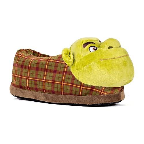 Sleeper z - Chaussons Peluche Shrek - Shrek - Homme Femme Enfant - Cadeau  Original 5471c755138