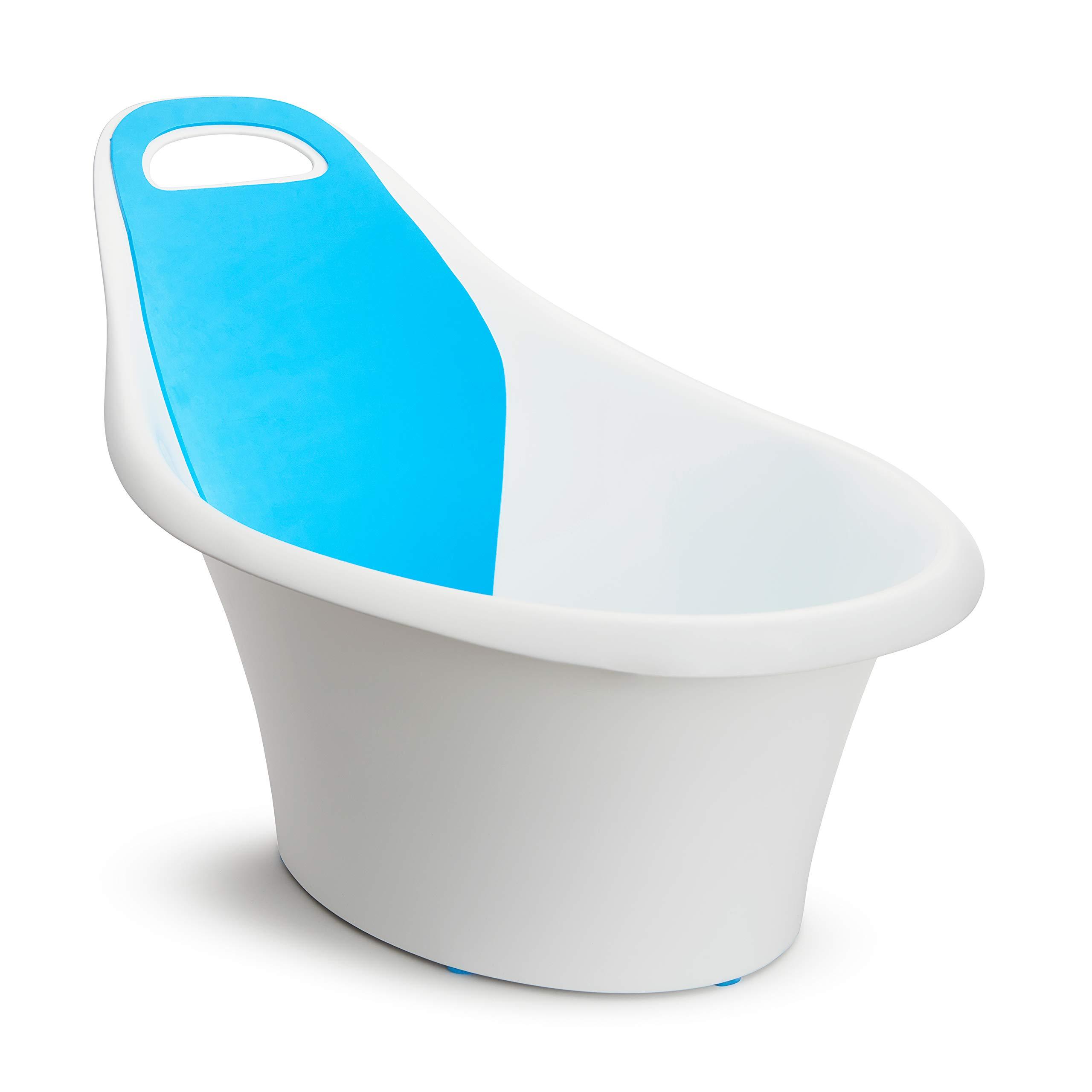 Munchkin Sit and Soak Baby Bath Hard Tub, White, 0-12 Months