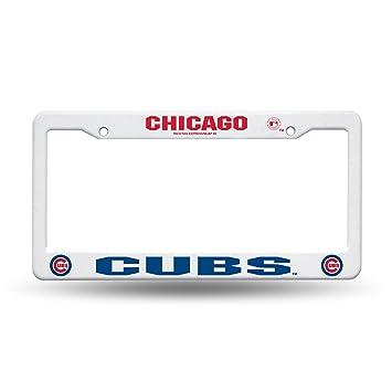 Amazon.com : Rico Industries MLB Plastic License Plate Frame ...