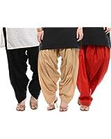 I Shop Traditional Patiala Salwar 100% Cotton Free Size