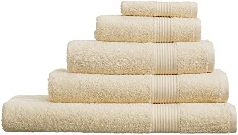 SELECT-ED® - Toallas de mano 100% algodón egipcio, toalla de baño, toalla de baño, 8 colores, Algodón egipcio., crema, Hand Towel (50 x 80 cm): Amazon.es: Hogar