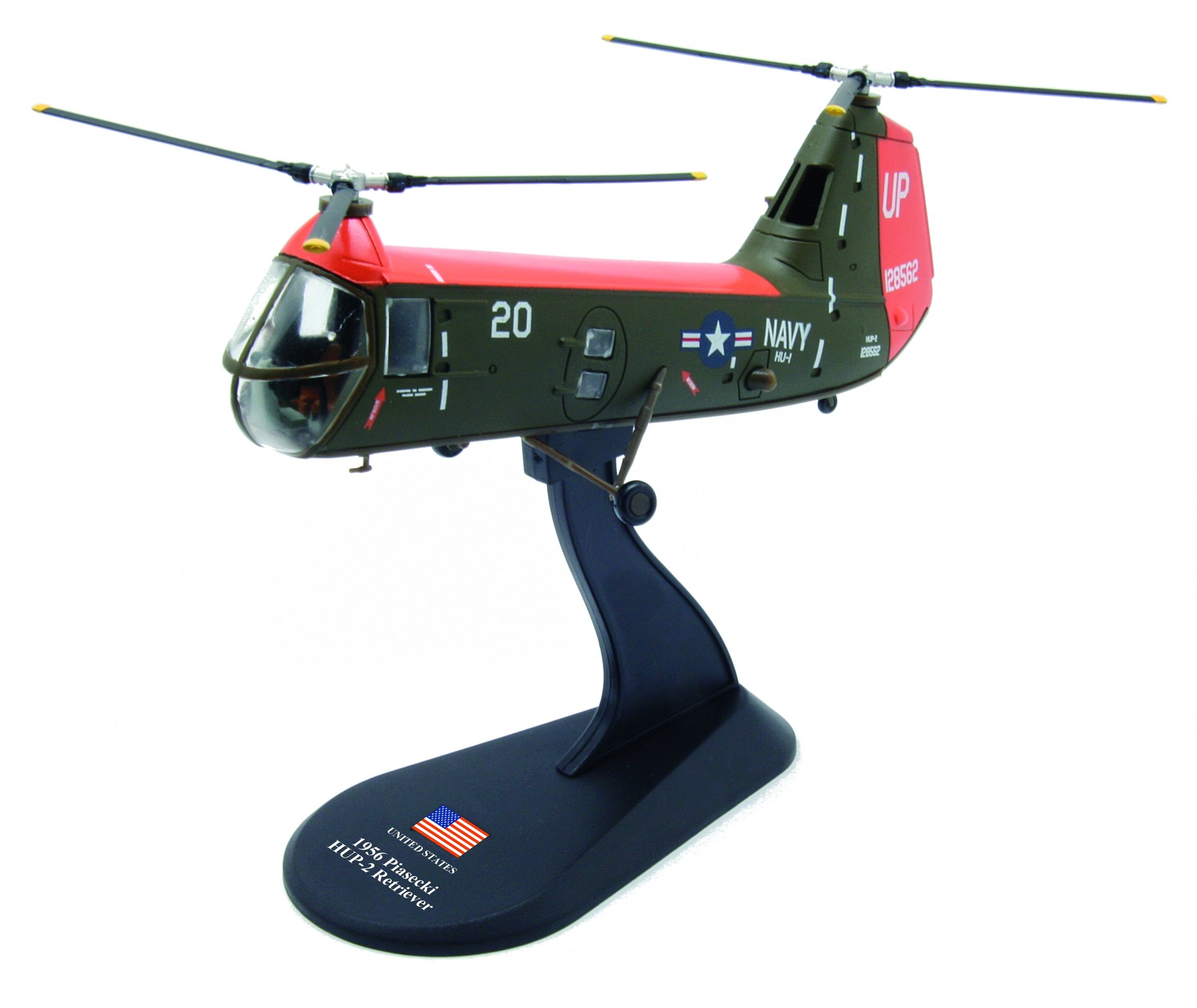 Piasecki H-25 Army Mule diecast 1:130 helicopter model (Amercom HY-33)