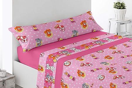 Confort Home - Unicolor - Juego De Sábanas Verano 3 Piezas 50% Algodón 50% Poliéster (Rosa, 90_x_200_cm): Amazon.es: Hogar
