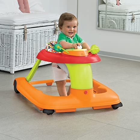 Amazon.com: Chicco 123 Actividad Walker, color naranja: Baby