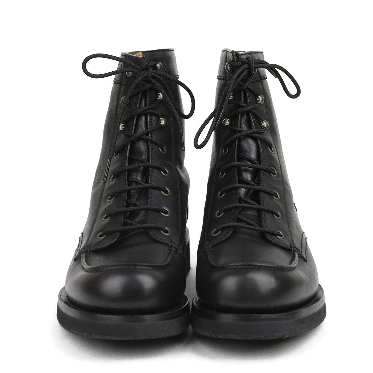 d67333ae620 Amazon.com  Gucci Men s Black Leather Interlocking G Lace Up Boots 352955  1000 (11.5 G  12.5 US)  Shoes