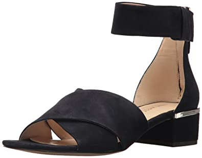 77112ed5b Nine West Women s Yesterday Suede Sandal Navy