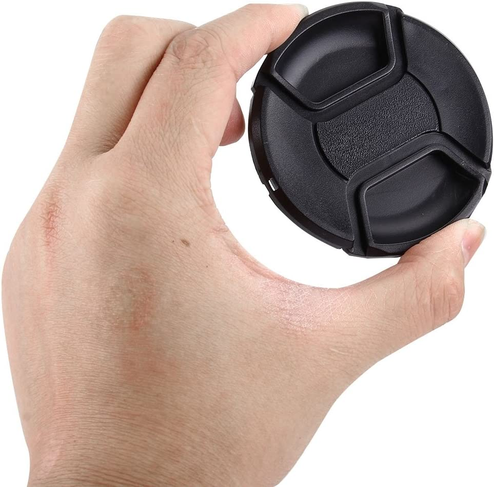 Black Ychaoya Camera Lens Accessories 72mm Sum Pinch Camera Lens Cap