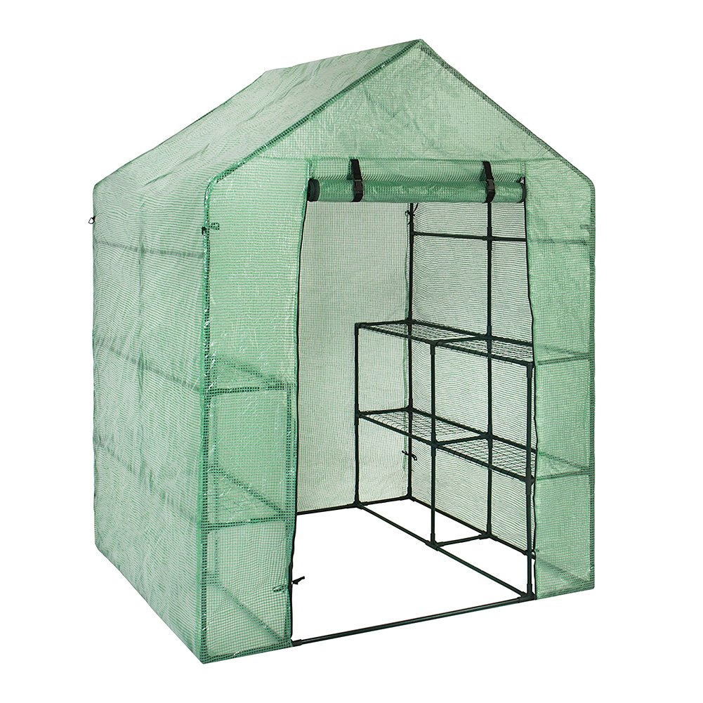 PVC Plant Greenhouse Cover Winter Garden Plant Cover Walk-in Greenhouse Replacement (Just Cover, Without Iron Stand, Flowerpot) zyurong