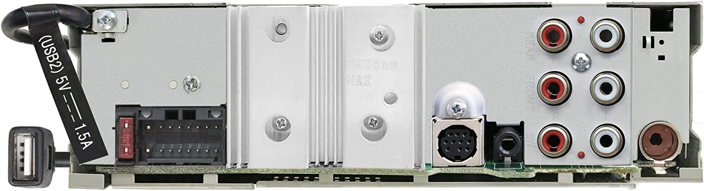 JVC KD-T915BTS SirusXM Ready AUX CD Receiver Featuring Bluetooth Alexa Front /& Rear USB