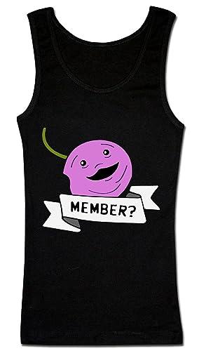 Funny Member Berry Camiseta sin mangas para mujer