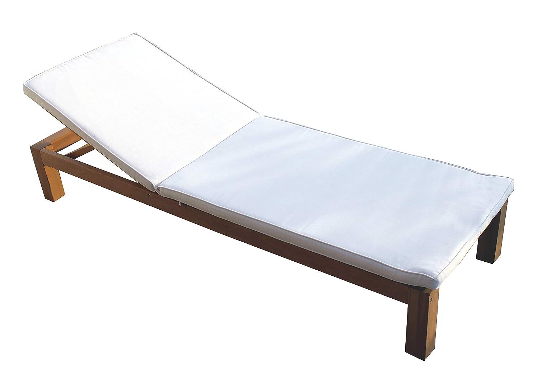 Vanvilla Sonnenliege Liegestuhl Gartenliege Holz Relaxliege