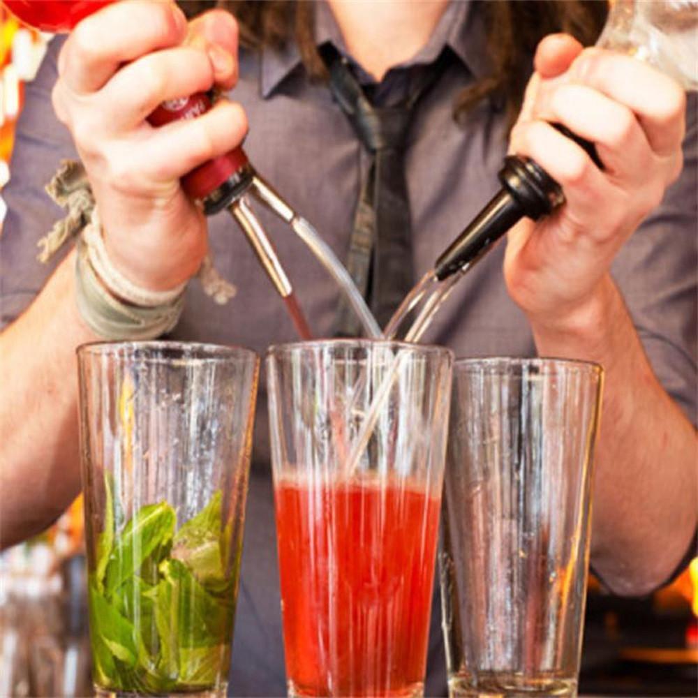 FTXJ Stainless Steel Cap Liquor Spirit Pourer Cocktail Wine Stopper (B) by FTXJ (Image #6)