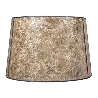 Blonde mica drum lamp shade with bronze spider assembly lampshades blonde mica drum lamp shade with bronze spider assembly lampshades amazon mozeypictures Image collections