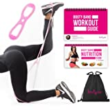 Authentic BootyCo Booty Belt Workout Band Program- Targeted Booty Workout to Lift, Sculpt & Tone the Booty- It's a Brazilian Butt Lift Booty Band System! Includes Workout Book & Gym Bag.