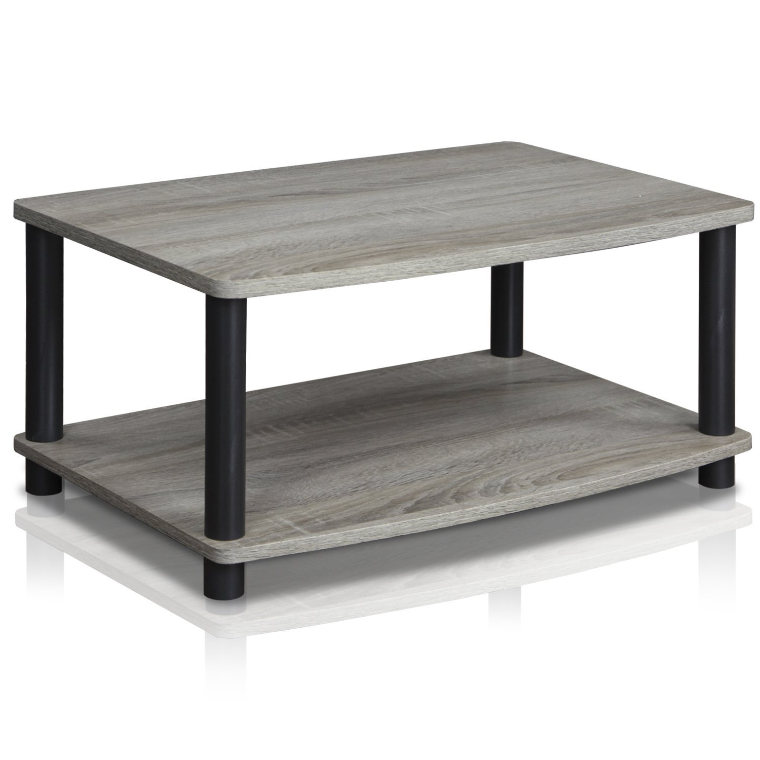 Small Modern Coffee Table Home Bedside Storage Table Living Room Furniture Grey Ebay