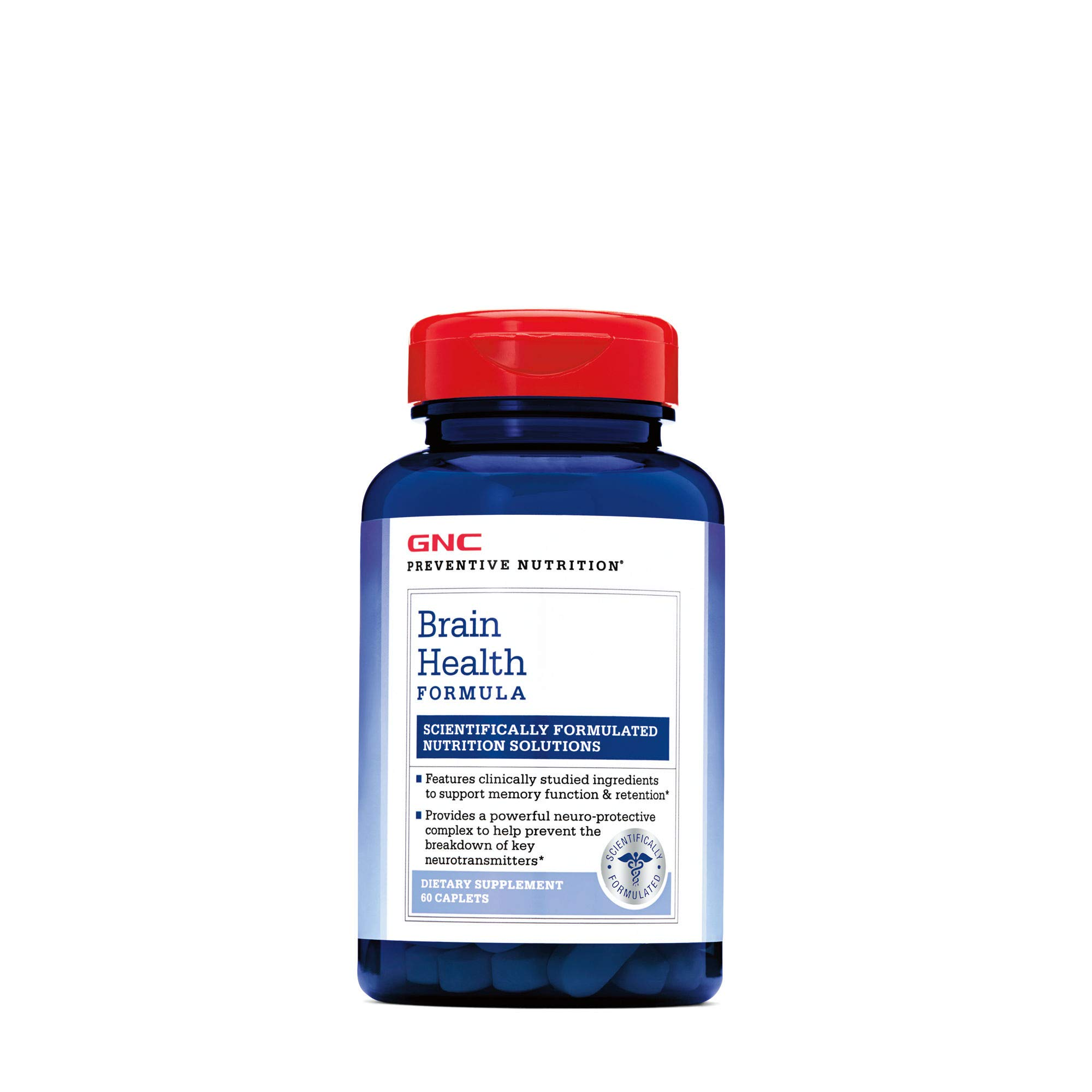 GNC Preventive Nutrition Brain Health Formula with Huperzine A, Choline Tyrosine by GNC (Image #3)