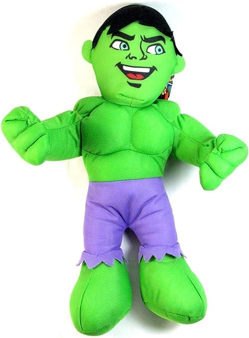 "Marvel Chunky The Incredible Hulk Super Hero Squad 12/"" 30 cm Plush Soft Toy"