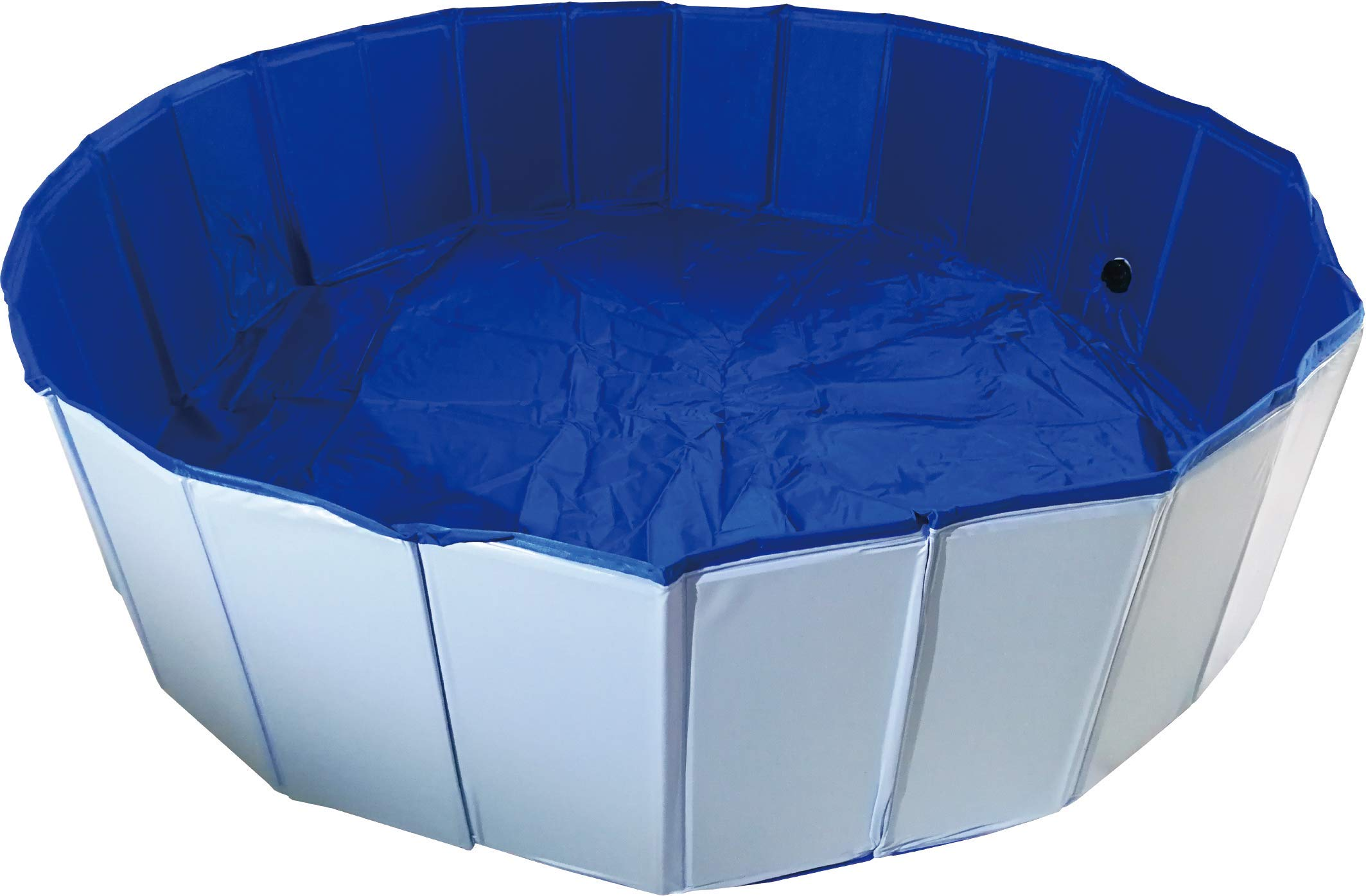 ZHANXING PVC Pet Swimming Pool Portable Foldable Pool Dogs Cats Bathing Tub Bathtub Wash Tub Water Pond Pool in The Garden (160x30cm(63inch.Dx12inch.H), Blue)