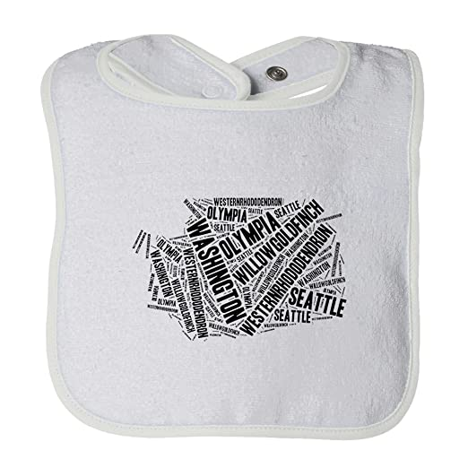 Amazon.com: Cute Rascals Washington State Map Fill With Names Tot ...
