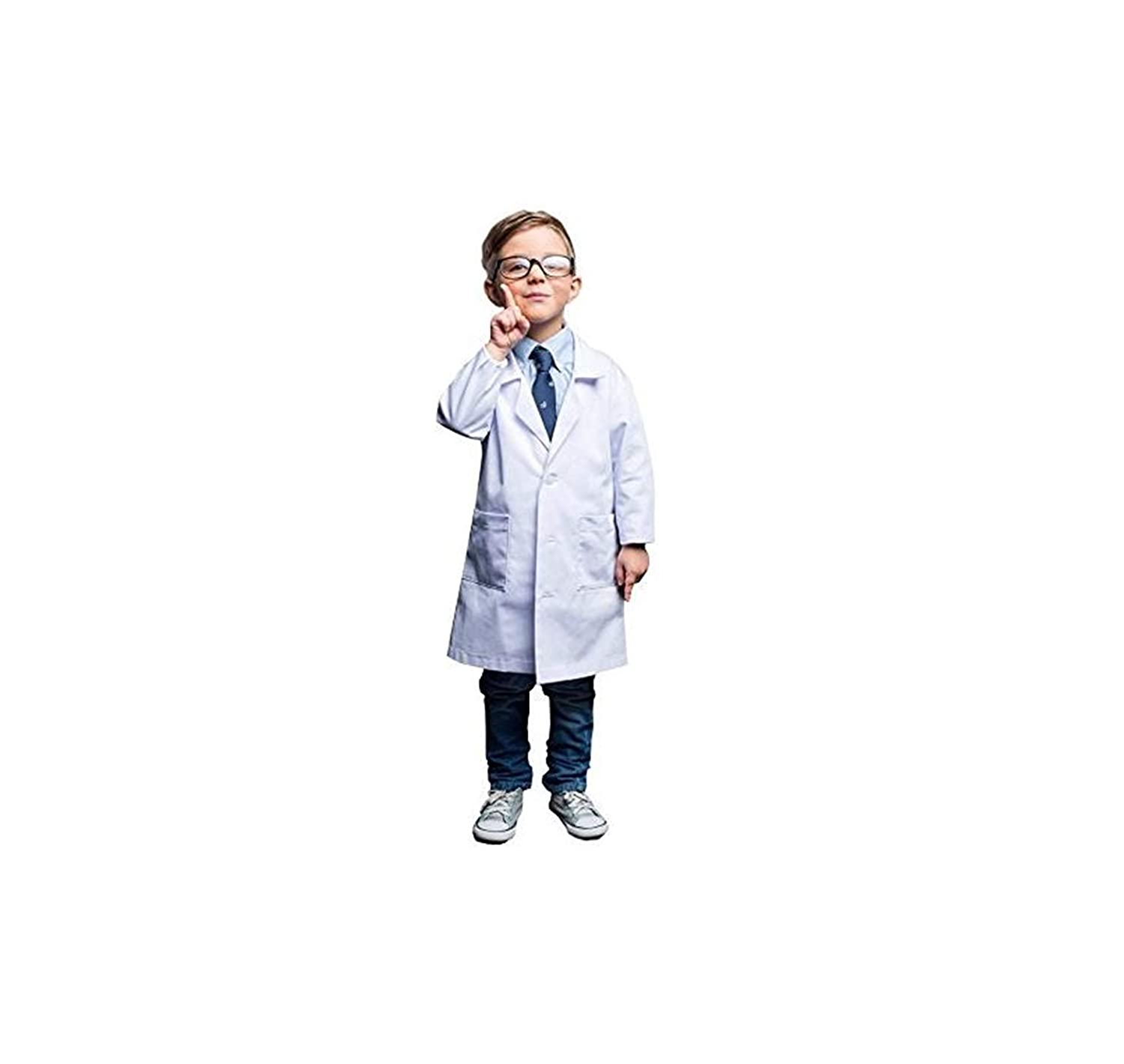 Natural Uniforms Real Childrens Lab Coat for School Projects Halloween Costumes