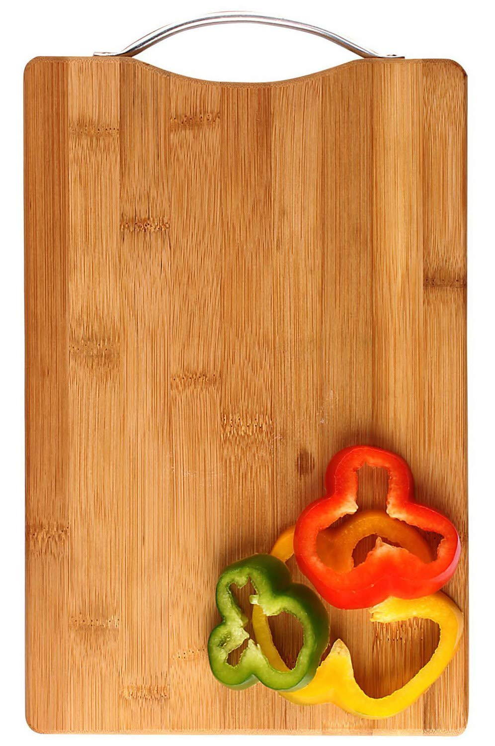 Wooden cutter board with some vegetables kept on it is a essential kitchen tool.