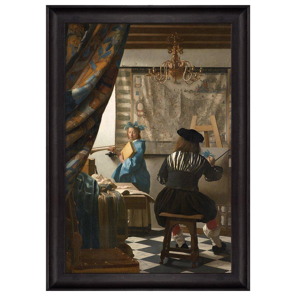 the art of painting by johannes vermeer framed art