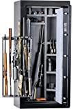 Kodiak UAK19ES Gun Safe with Patented Swing Out Gun Rack, 21 Long Guns, 375lbs, 30 Minute Fire Protection and Electronic Lock