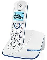 Alcatel F390 Solo Téléphone sans fil DECT Bleu
