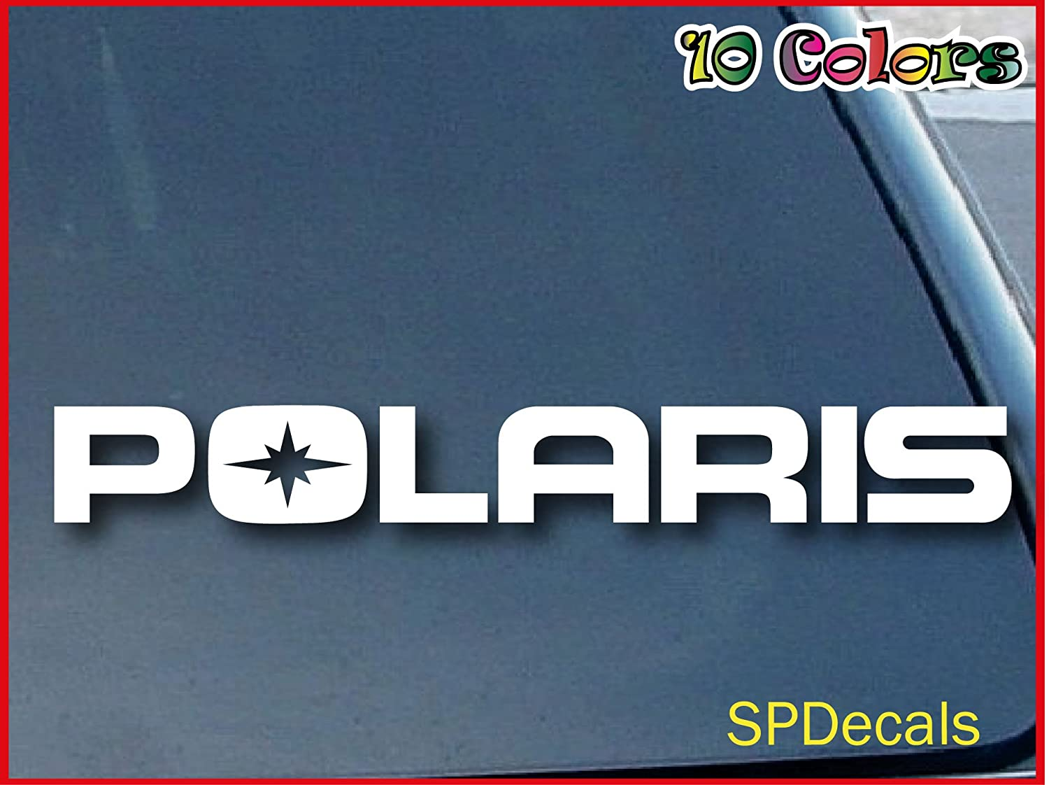 Polaris Girl Vinyl Decal Get Another Free Buy One