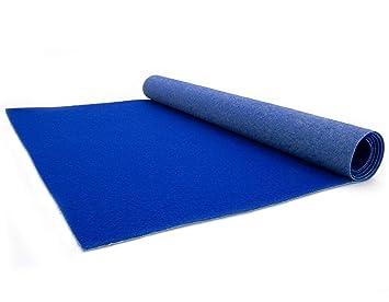 Gangl/äufer Blau 2,00m x 15,00m B1 Messeteppich VIP Empfangsteppich Hochzeits-L/äufer Event-Teppich Meterware