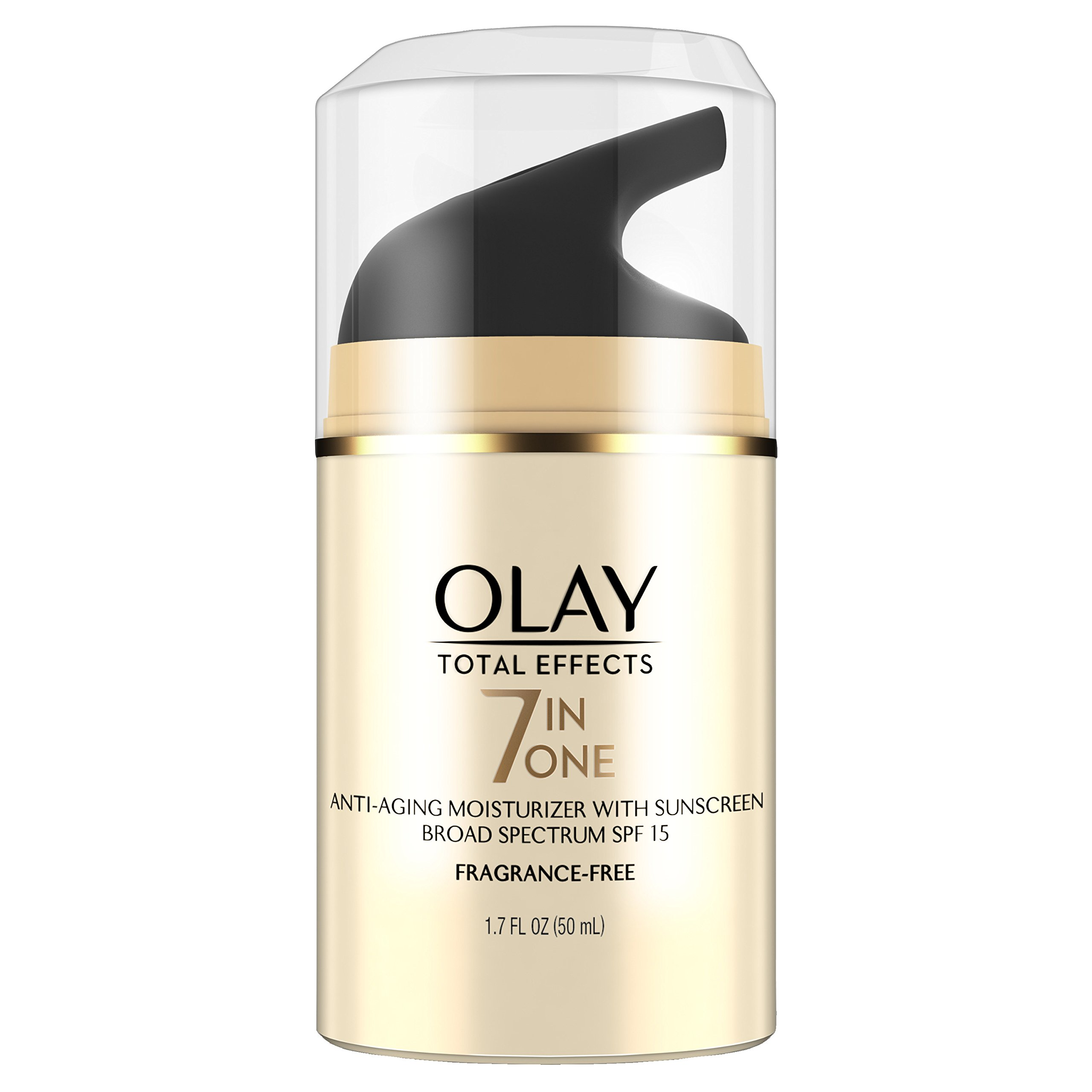 Olay Total Effects 7-in-1 Anti-Aging UV Moisturizer SPF 15, 1.7 Fl Oz by Olay