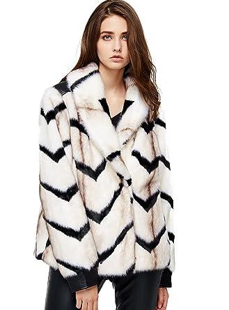 Jackets & Coats Winter Women Tops Warm Faux Fur Coat Fluffy Soft Fur Coat Women Solid Color Chic Female Outwear Elegant Jacket Party Overcoat Attractive Designs; Women's Clothing