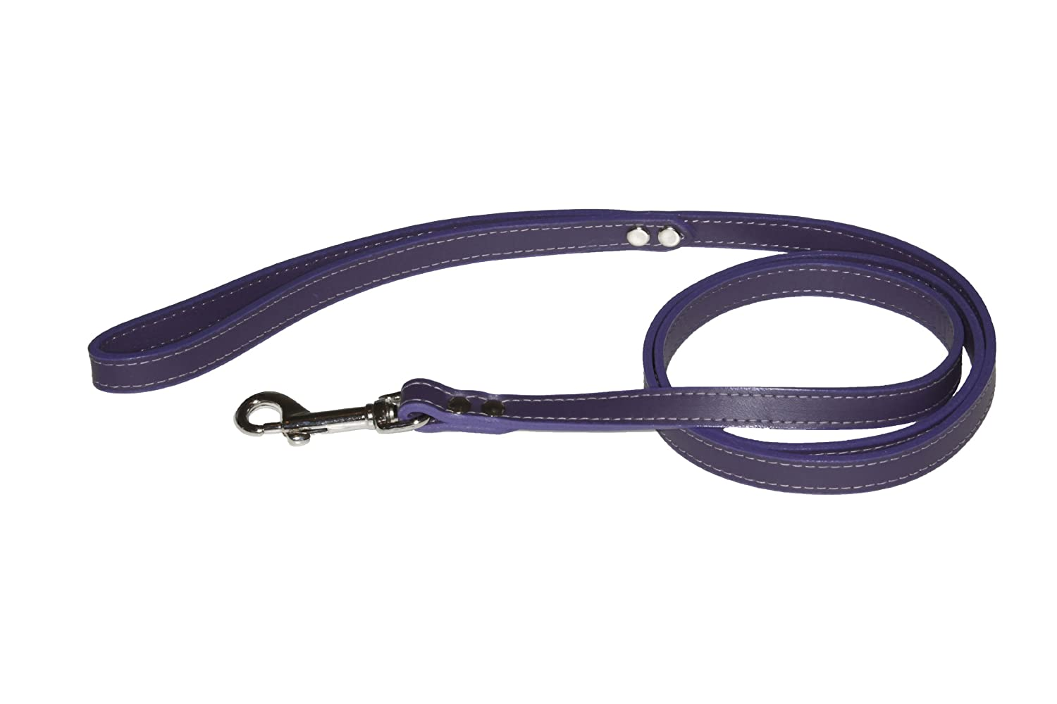 Lead Pet Leash, 1 2-Inch by 4-Feet, Non Metallic Purple