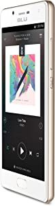 BLU Studio Touch - 4G LTE Smartphone -GSM Unlocked - Gold