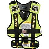 RideSafer Type 3 GEN3 Travel Vest - Yellow/Black - Large