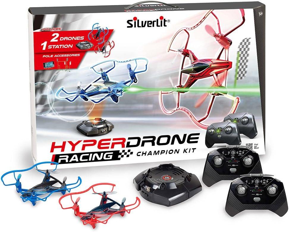 Silverlit Kit de campeón de Carreras Hyper Drone
