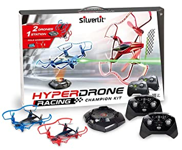 Silverlit Hyper Drone Racing Champion Kit: Amazon.es: Juguetes y ...