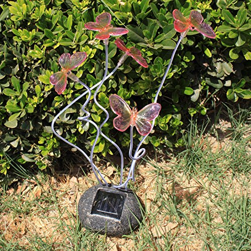 Blinking Butterflies Garden Solar Light