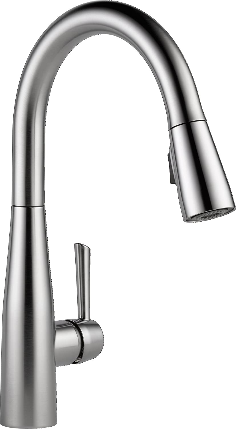 Kitchen Pull Out Faucet Delta Faucet 9113 Ar Dst Essa Single Handle Pull Down Kitchen