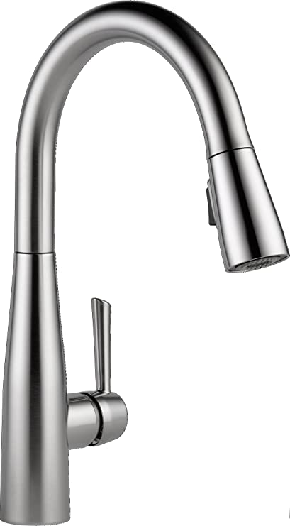 Delta Faucet 9113 Ar Dst Essa Single Handle Pull Down Kitchen Faucet